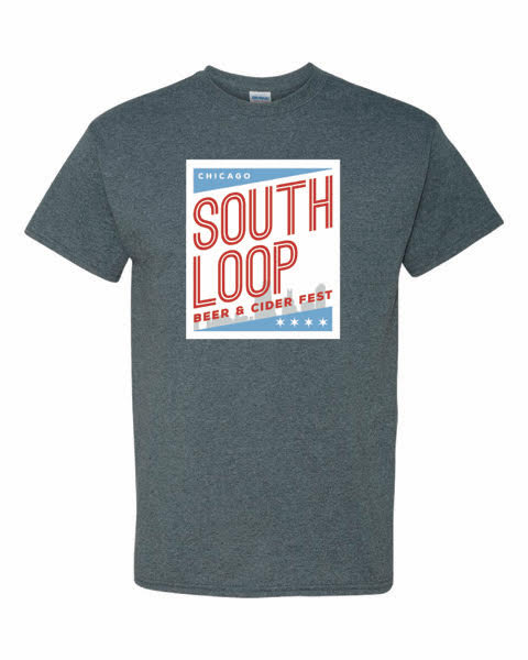 South Loop T-Shirt-Dark Heather