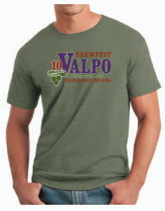 Valpo 2019 T-shirt Military Green 10th Year