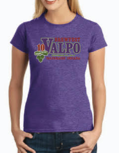 Valpo 2019 T-shirt Purple Women's 10th Year