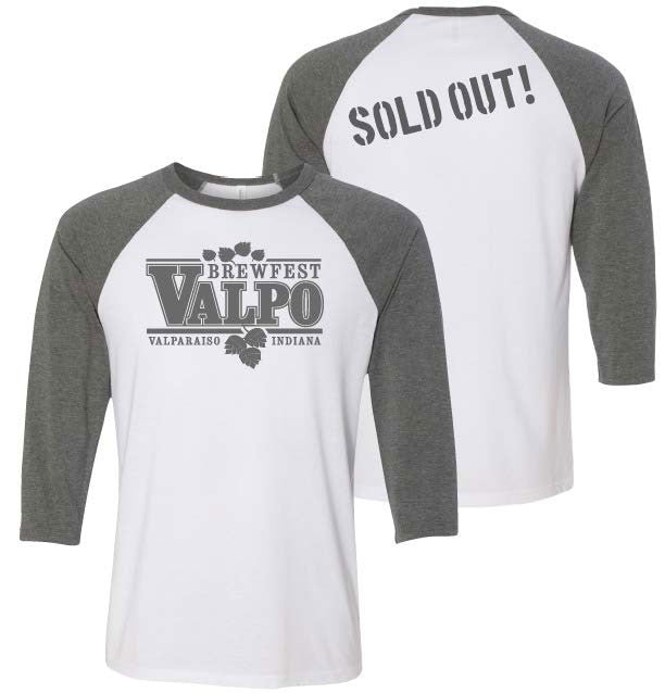 Valpo17 Limited Edition 3/4 Sleeve Raglan