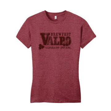 Valpo 2019 T-shirt Red Heather Women's