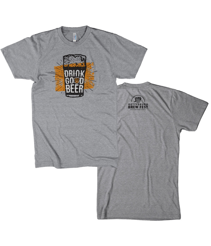 GBF16 Drink Good Beer T-shirt