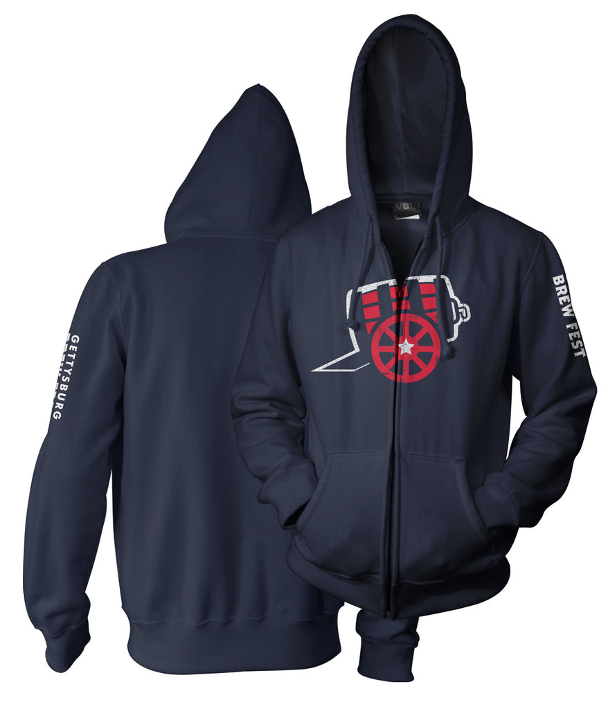 GBF16 Men's Zip Hoody