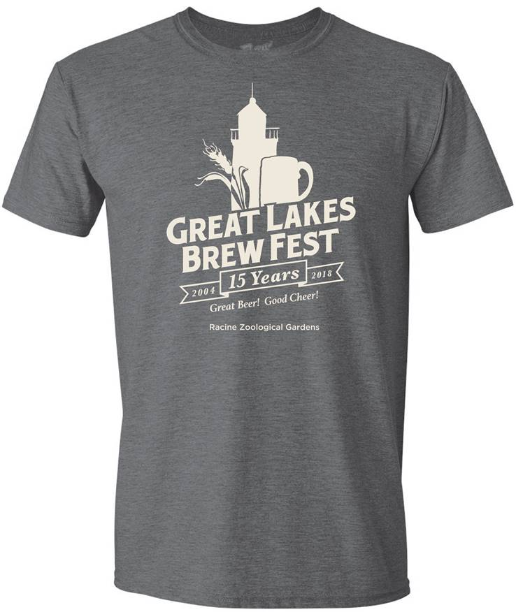 GLBF Anniversary Unisex T-Shirt - Dark Heather