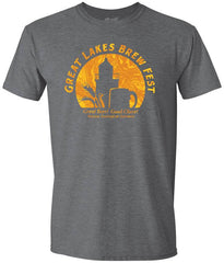 GLBF Anniversary Circle Unisex T-Shirt Dark Heather