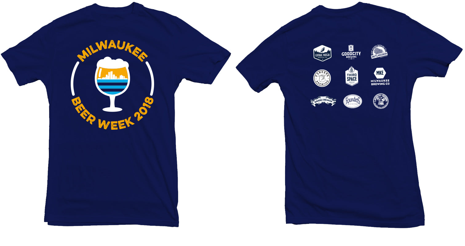 MKE Beer Week 2018 T-Shirt