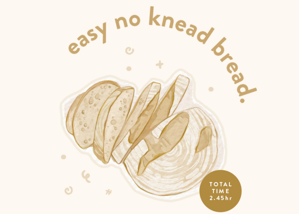 Recipe: Easy No-Knead Bread