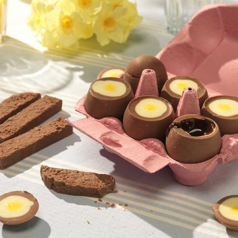Choc on Choc - Chocolate Eggs with Soldiers