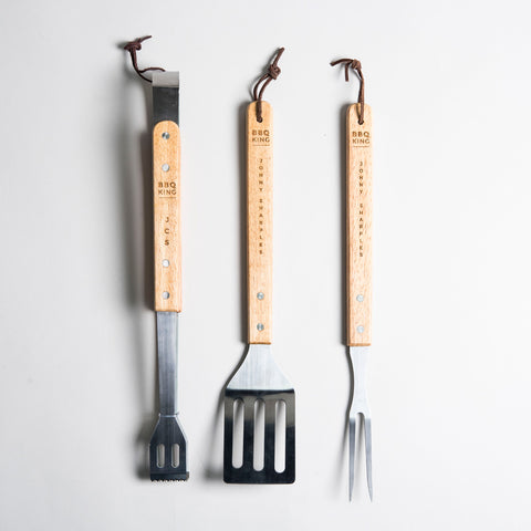 Getting Personal - BBQ Tools