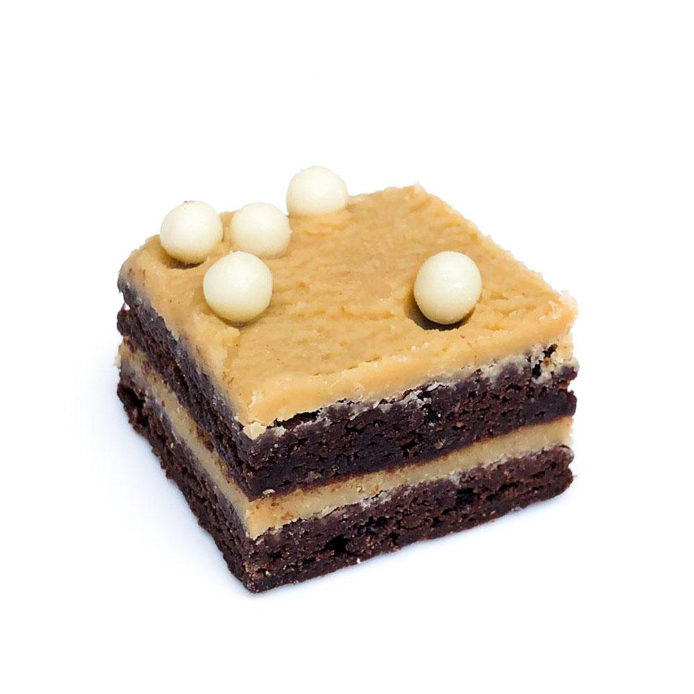Cutter & Squidge PEANUT BUTTER FUDGE MINI BROWNIE BOX