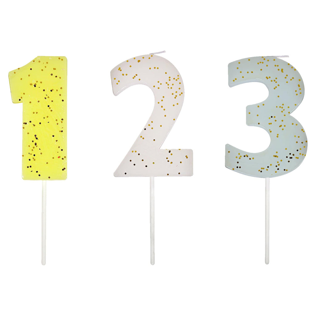 Cutter & Squidge NUMBER CANDLES