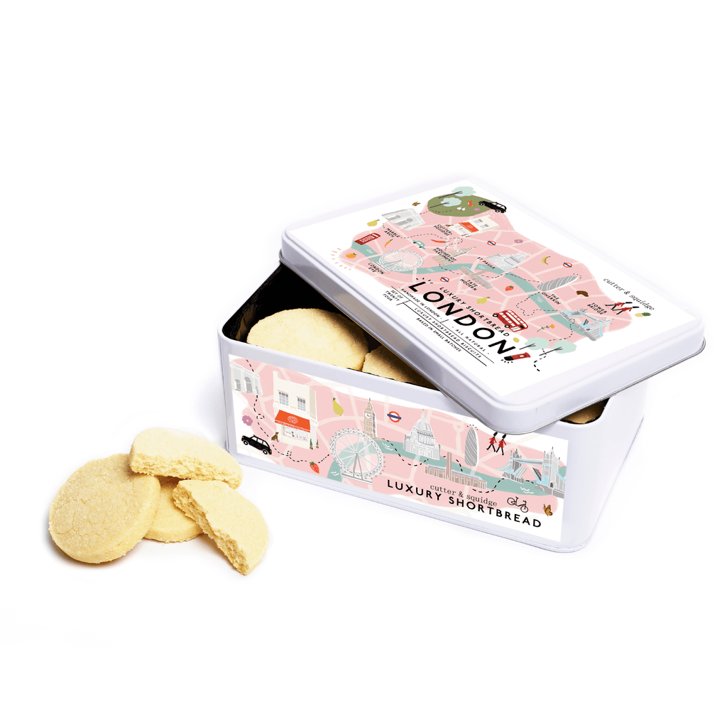 Cutter & Squidge London Shortbread Tin LONDON SHORTBREAD TIN
