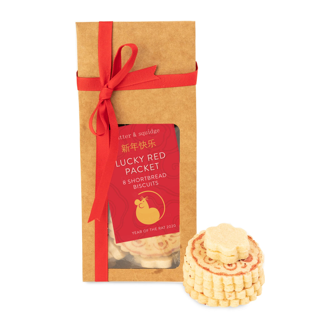 LUCKY RED PACKET SHORTBREAD BISCUITS