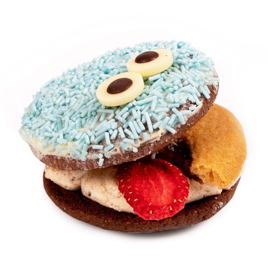 COOKIE MONSTER HALLOWEEN BISKIE