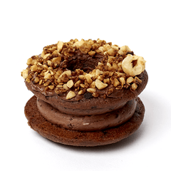 chocolate hazelnut doughnut