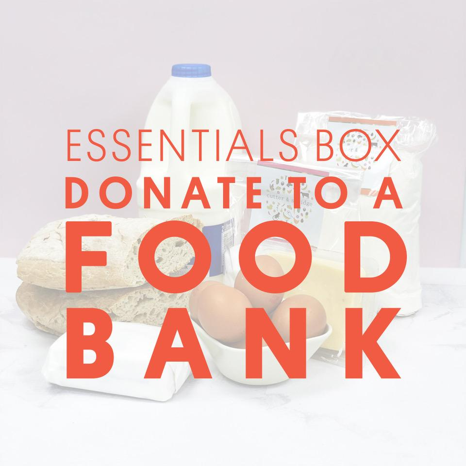 WEEKLY ESSENTIALS BOX - FOOD BANK DONATION