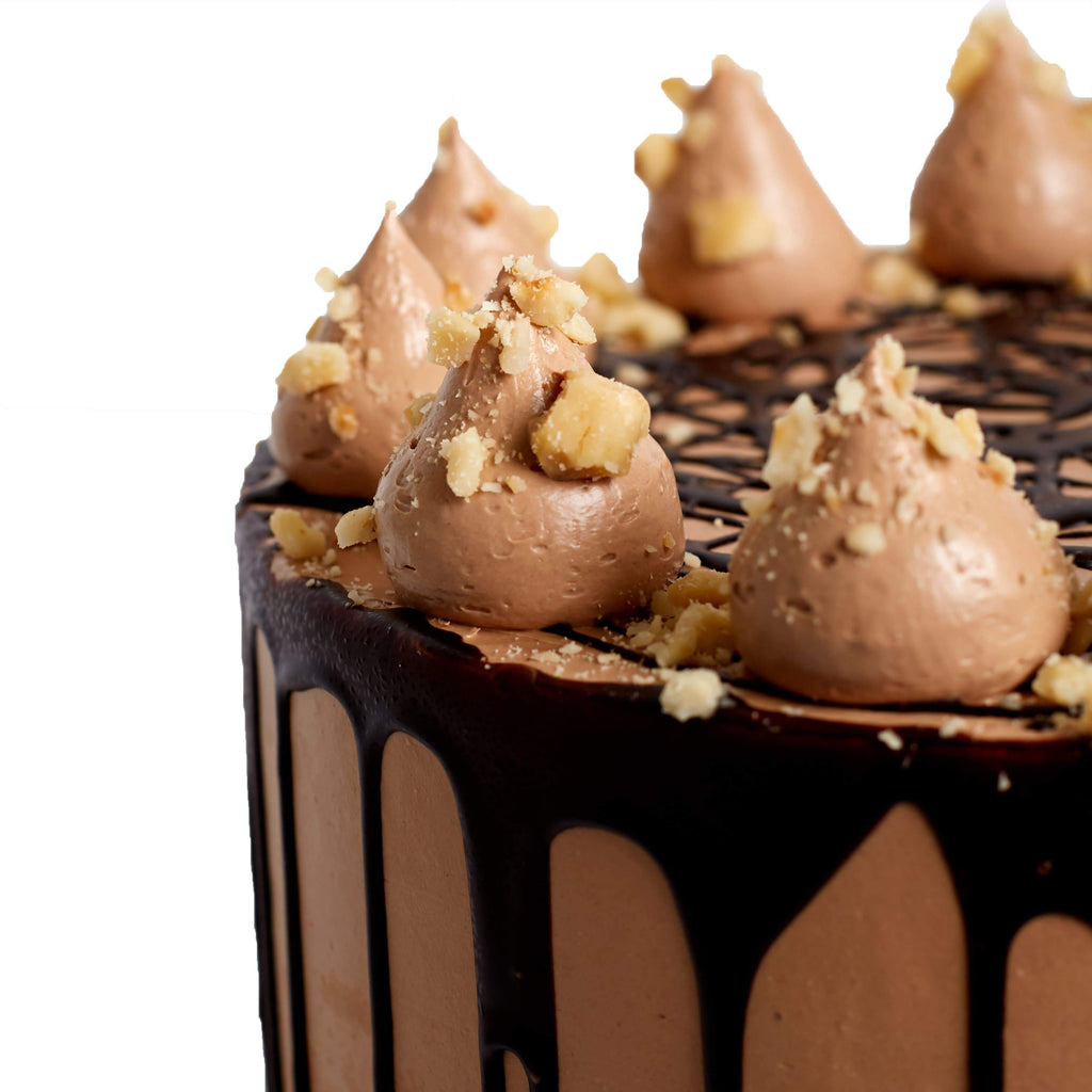 Cutter & Squidge CHOCOLATE HAZELNUT CAKE