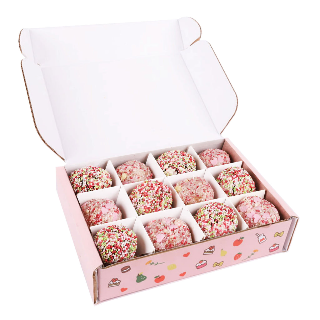 Cutter & Squidge Box of 12 HELLO KITTY CAKE TRUFFLES