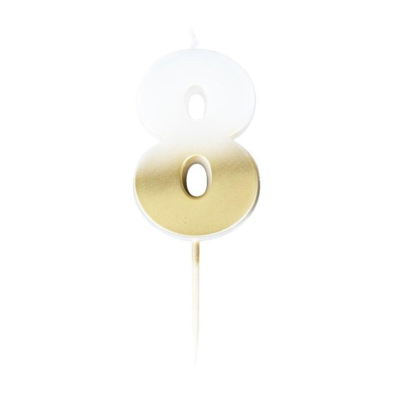 Cutter & Squidge OMBRE NUMBER CANDLES