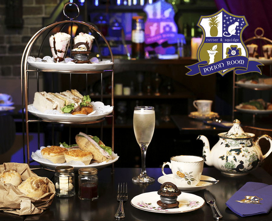 London Afternoon Tea Potion Room