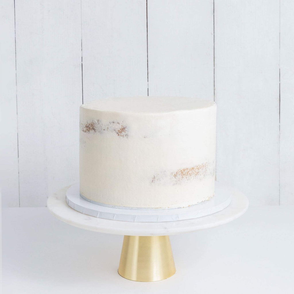 ONE TIER NAKED WEDDING CAKE