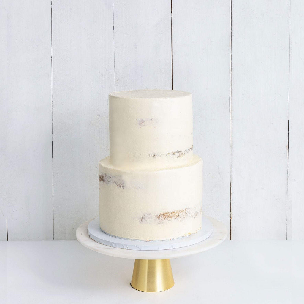 "Cutter & Squidge Weddings Two Tier (8"", 6"") TWO TIER NAKED WEDDING CAKE"