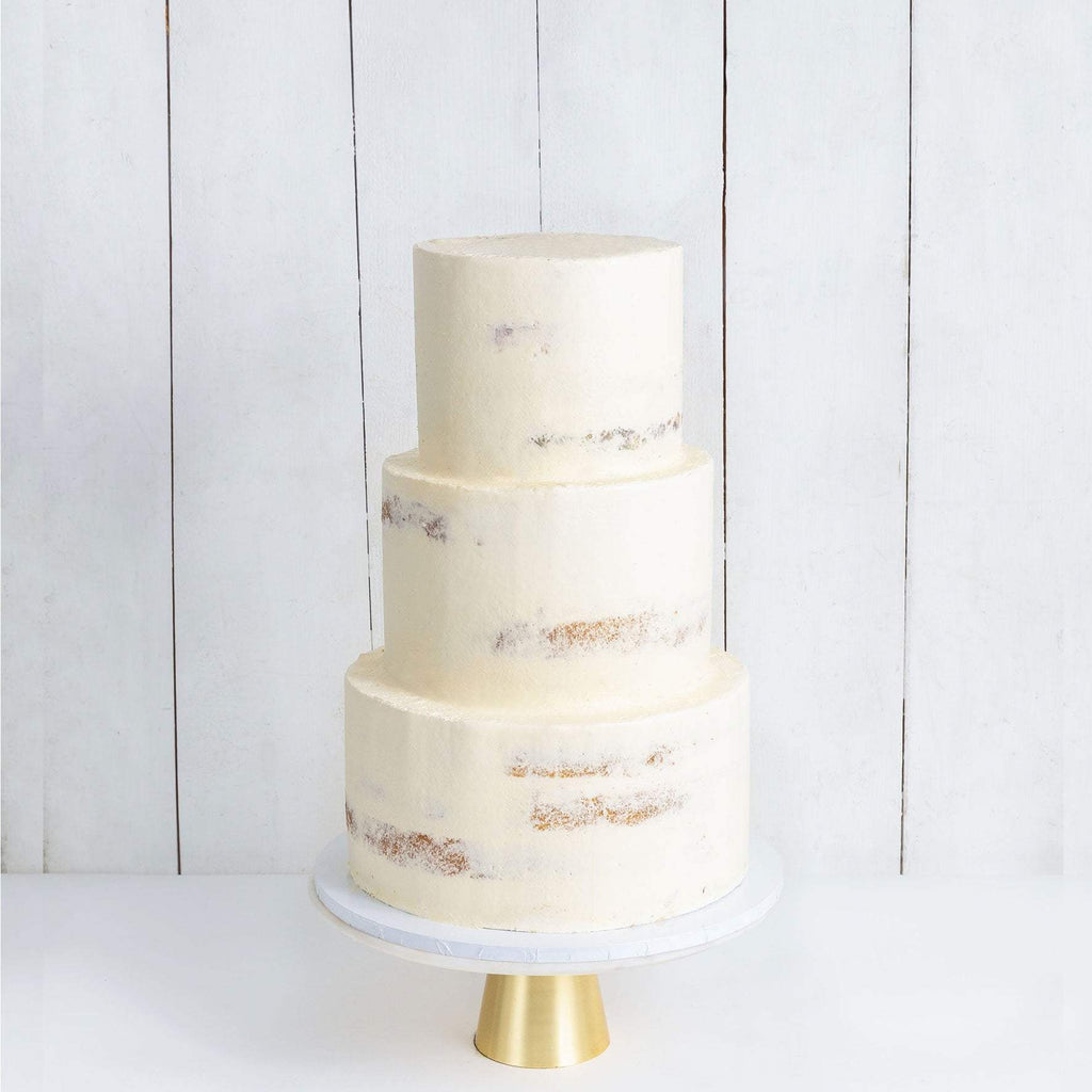 THREE TIER NAKED WEDDING CAKE