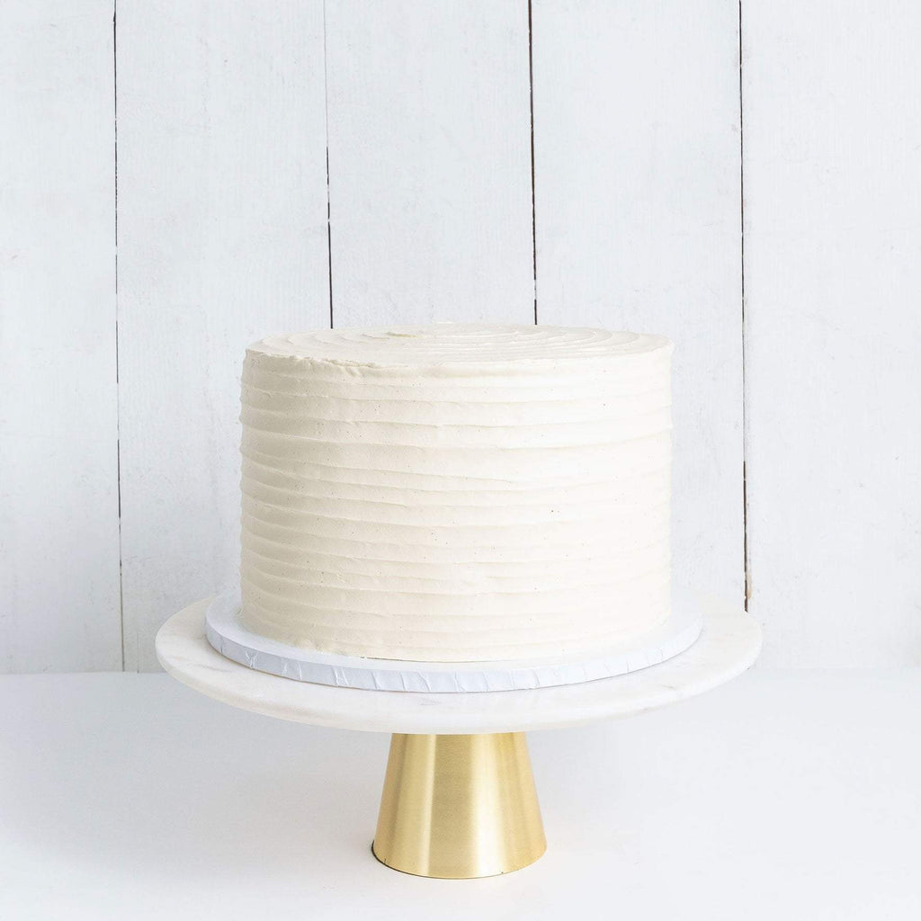 Cutter & Squidge Weddings ONE TIER RUFFLE WEDDING CAKE
