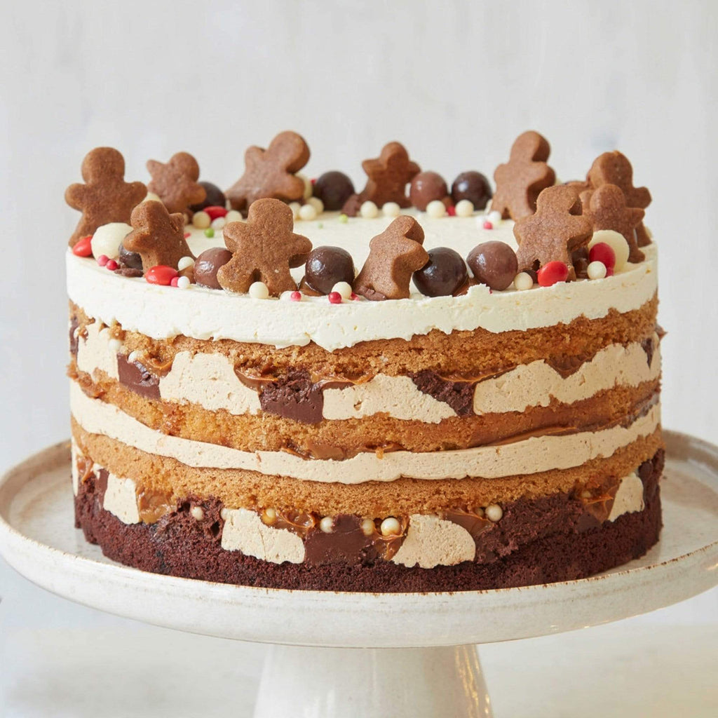 SPICED GINGERBREAD OMBRE CAKE