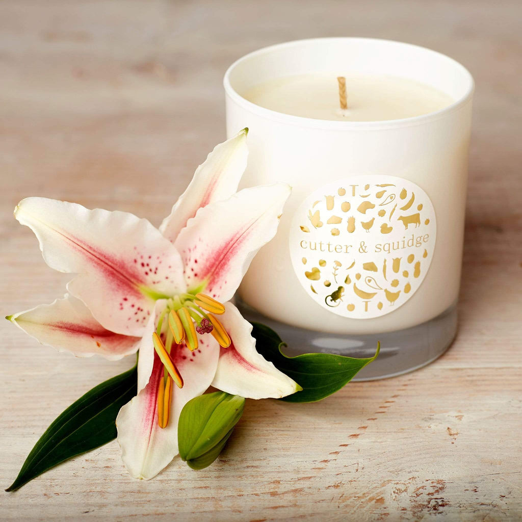 Cutter & Squidge Ginger & White Lily DREAM CANDLES