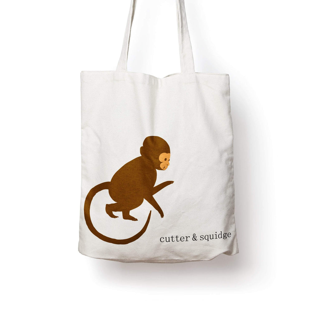 MONKEY CANVAS BAG