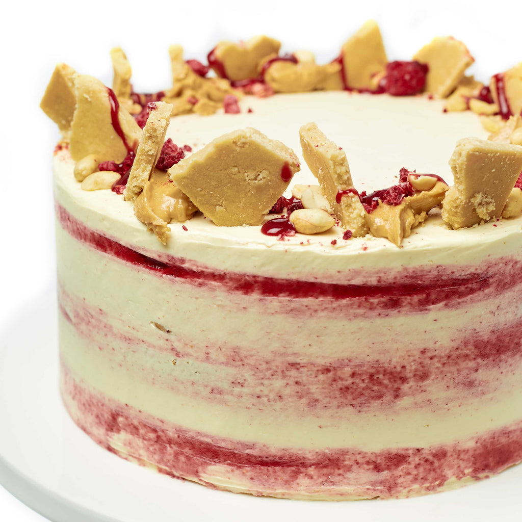 PEANUT BUTTER JELLY CAKE
