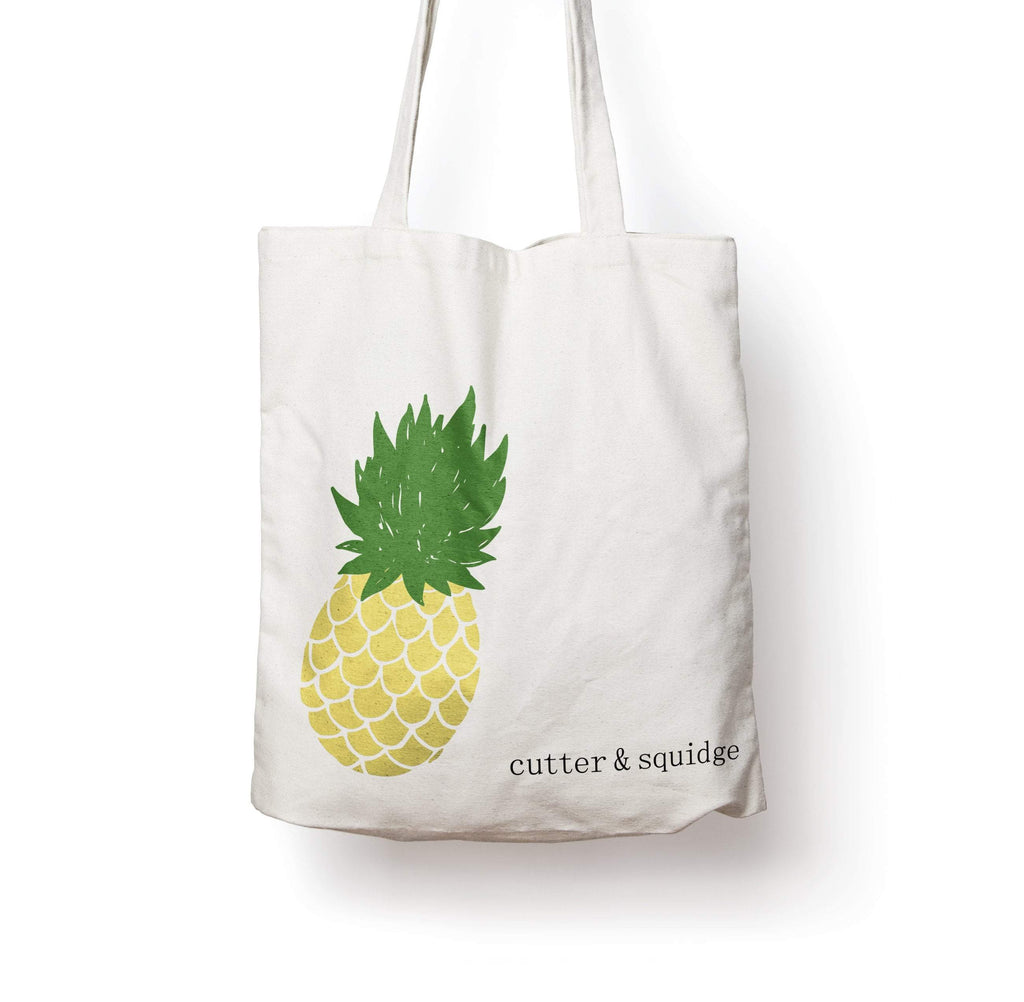 Cutter & Squidge Perfect Pineapple PINEAPPLE CANVAS BAG