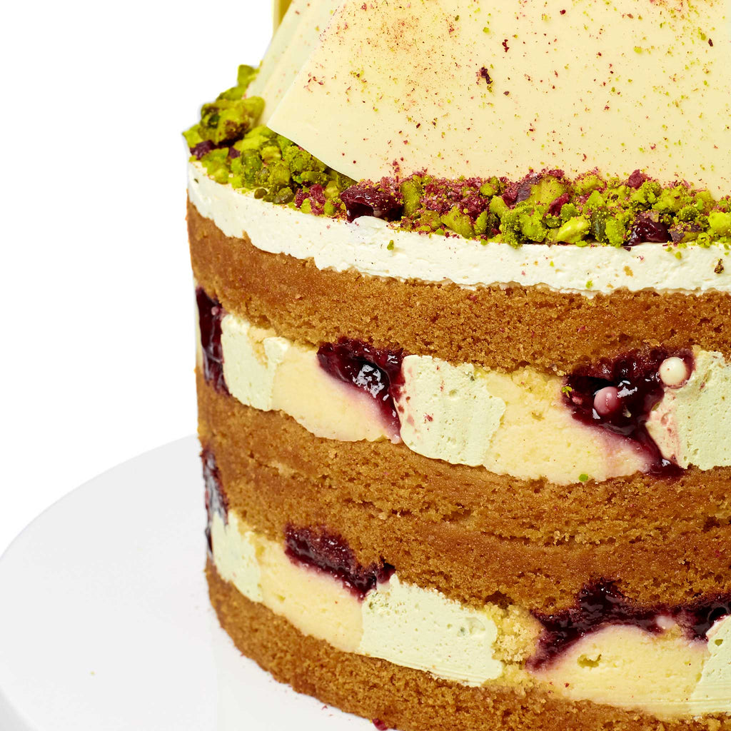 Cutter & Squidge PISTACHIO CHERRY SHARD CAKE