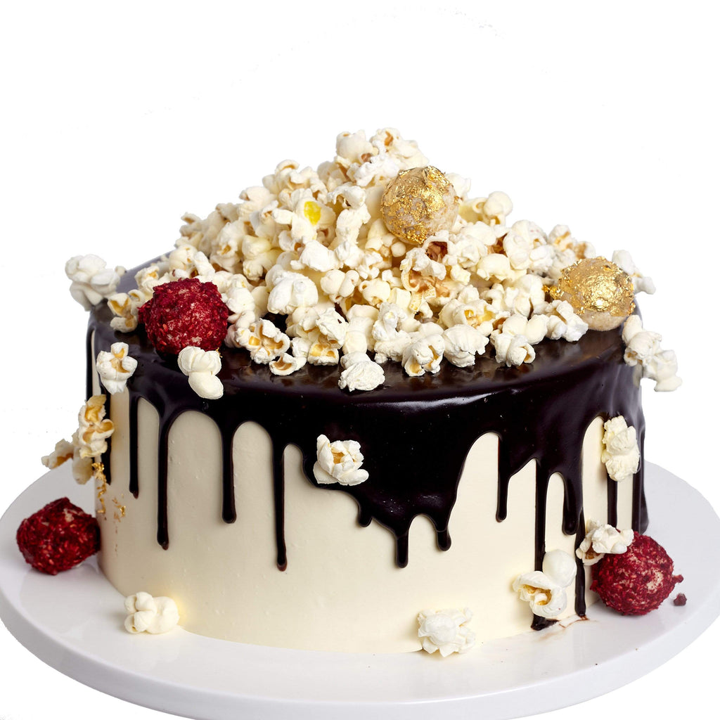 FREE FROM POPCORN DRIP CAKE