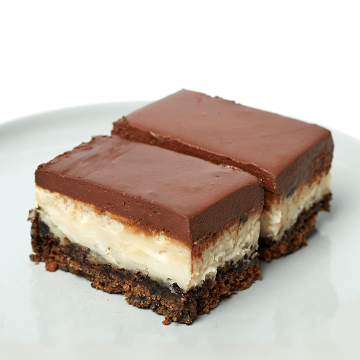 VEGAN OREO CHEESECAKE BAR