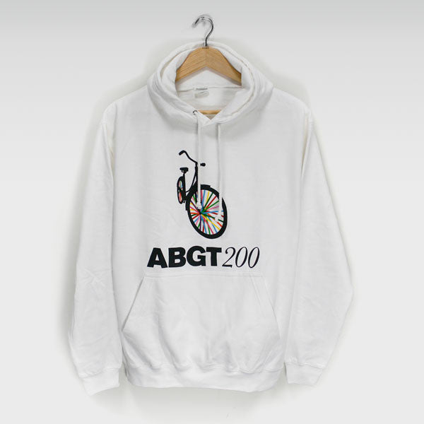 ABGT200 WHITE PULL ON HOODY