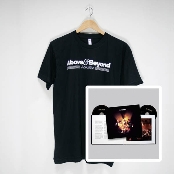 Acoustic 1 Special Edition Book + Black Tour T-Shirt (PAL)