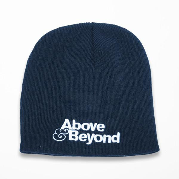 Above & Beyond Navy Beanie