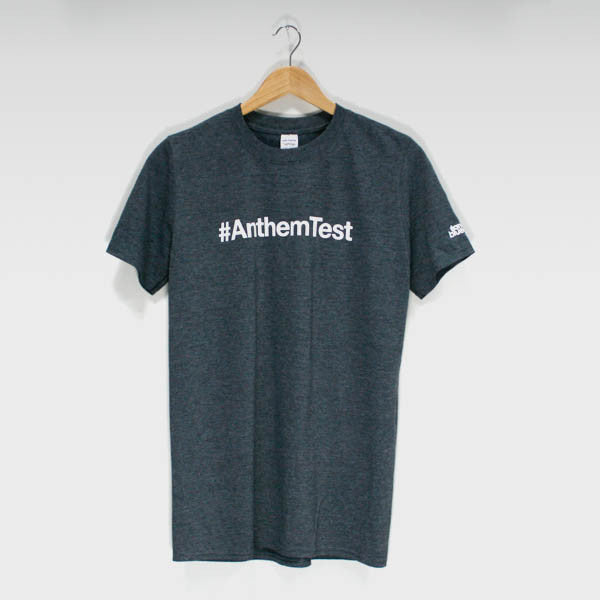 Dark Grey #Anthem Test T-Shirt - Ilan Bluestone