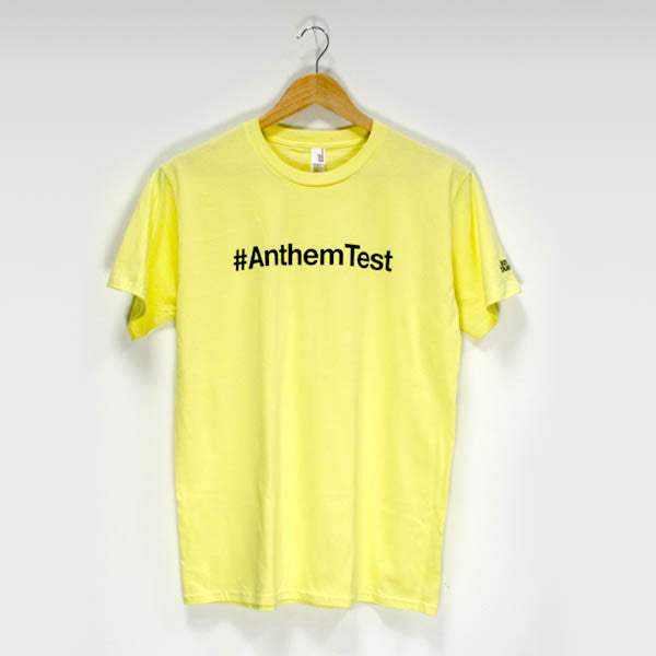 Yellow #Anthem Test T-Shirt - Ilan Bluestone