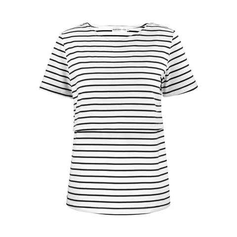 Happymaternity Nursing Stripes Top