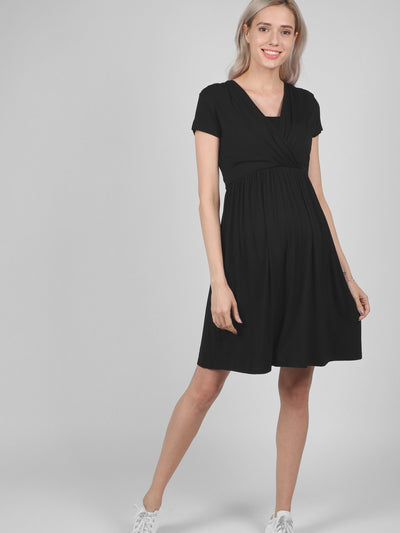 Black Ribbon Dresses at lovemere.com, best nursing dresses, maternity wear dresses, buy maternity dress, maternity occasion wear, stretchy maternity dress, nursing dress midi, nursing midi dress