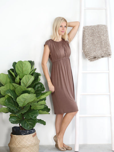 Best Quality Cocoa Louise Dress at Bellefinery x Lovemere