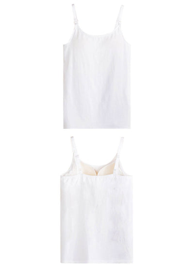 Lovemère Basics Nursing Camisole with Built-In Bra