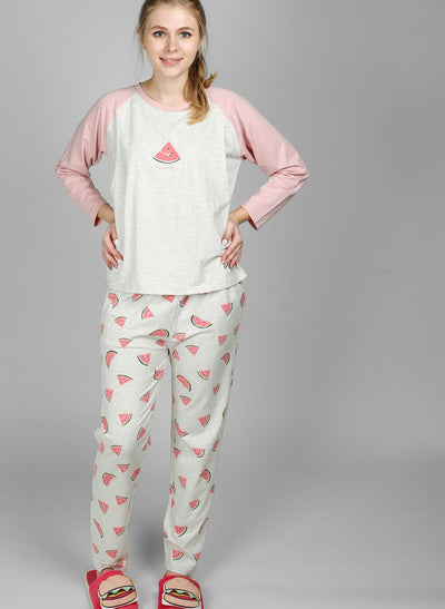 Happy Melon Maternity & Nursing Pajamas