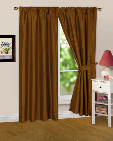 Brown Curtains – UfurnishMe