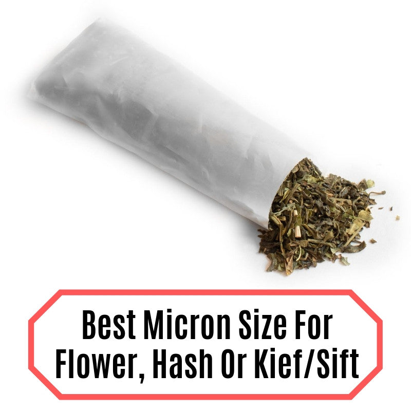 Best Micron Count For Flower, Hash or Kief