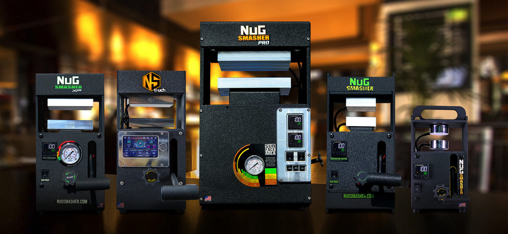 NugSmasher Rosin Presses All Models