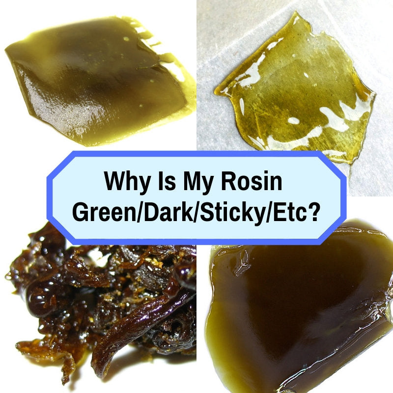 Why Dark Green Sticky Rosin
